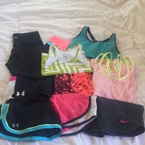 athletic bundle - 9 items